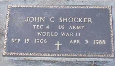 SHOCKER, JOHN C. (WW II) - Stanton County, Nebraska | JOHN C. (WW II) SHOCKER - Nebraska Gravestone Photos