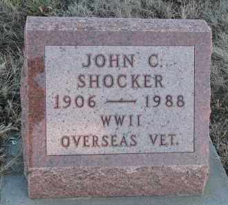 SHOCKER, JOHN C. - Stanton County, Nebraska | JOHN C. SHOCKER - Nebraska Gravestone Photos