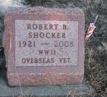 SHOCKER, ROBERT B. - Stanton County, Nebraska | ROBERT B. SHOCKER - Nebraska Gravestone Photos