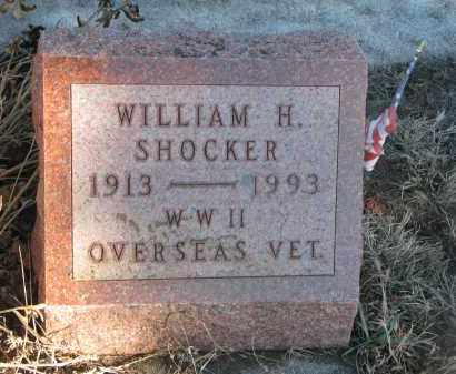 SHOCKER, WILLIAM H. - Stanton County, Nebraska | WILLIAM H. SHOCKER - Nebraska Gravestone Photos