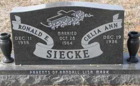 SIECKE, RONALD E. - Stanton County, Nebraska | RONALD E. SIECKE - Nebraska Gravestone Photos