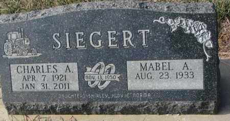 SIEGERT, MABEL A. - Stanton County, Nebraska | MABEL A. SIEGERT - Nebraska Gravestone Photos
