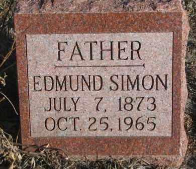SIMON, EDMUND - Stanton County, Nebraska | EDMUND SIMON - Nebraska Gravestone Photos