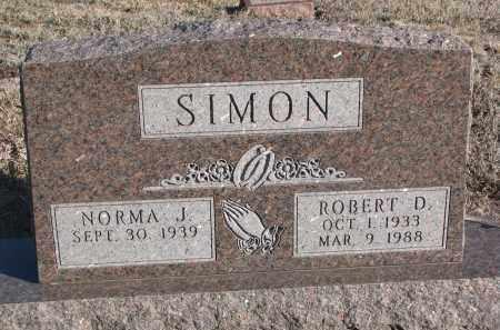 SIMON, NORMA J. - Stanton County, Nebraska | NORMA J. SIMON - Nebraska Gravestone Photos