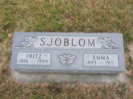 SJOBLOM, EMMA - Stanton County, Nebraska | EMMA SJOBLOM - Nebraska Gravestone Photos