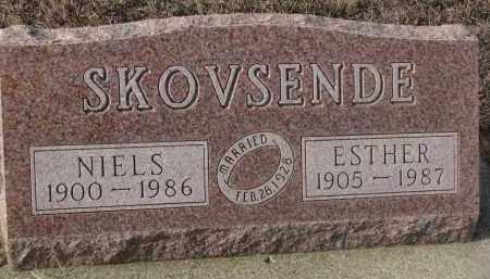 SKOVSENDE, ESTHER - Stanton County, Nebraska | ESTHER SKOVSENDE - Nebraska Gravestone Photos