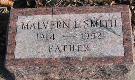 SMITH, MALVERN L. - Stanton County, Nebraska | MALVERN L. SMITH - Nebraska Gravestone Photos