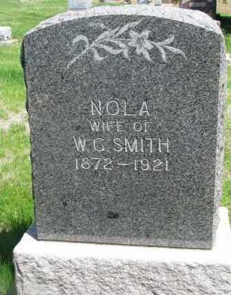 SMITH, NOLA - Stanton County, Nebraska   NOLA SMITH - Nebraska Gravestone Photos