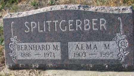 SPLITTGERBER, BERNHARD M. - Stanton County, Nebraska   BERNHARD M. SPLITTGERBER - Nebraska Gravestone Photos