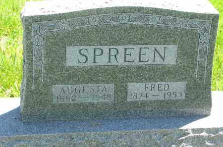 SPREEN, AUGUSTA - Stanton County, Nebraska | AUGUSTA SPREEN - Nebraska Gravestone Photos