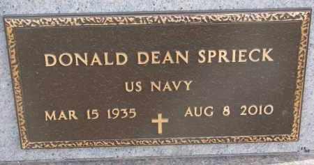 SPRIECK, DONALD DEAN (MILITARY) - Stanton County, Nebraska | DONALD DEAN (MILITARY) SPRIECK - Nebraska Gravestone Photos