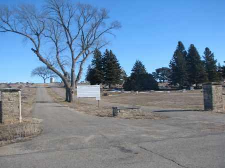 *STANTON, ENTRANCE & GPS - Stanton County, Nebraska   ENTRANCE & GPS *STANTON - Nebraska Gravestone Photos