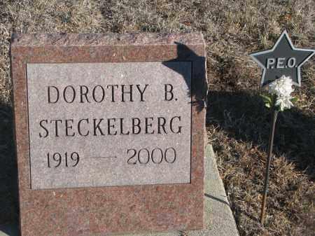 STECKELBERG, DOROTHY B. - Stanton County, Nebraska | DOROTHY B. STECKELBERG - Nebraska Gravestone Photos