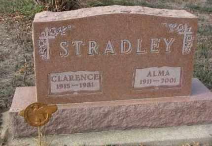 STRADLEY, ALMA - Stanton County, Nebraska | ALMA STRADLEY - Nebraska Gravestone Photos