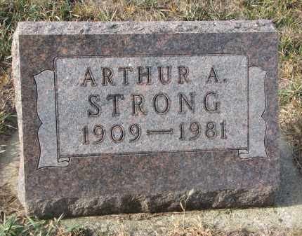 STRONG, ARTHUR A. - Stanton County, Nebraska | ARTHUR A. STRONG - Nebraska Gravestone Photos