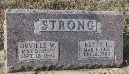 STRONG, ORVILLE W. - Stanton County, Nebraska | ORVILLE W. STRONG - Nebraska Gravestone Photos