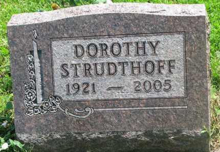 STRUDTHOFF, DOROTHY - Stanton County, Nebraska | DOROTHY STRUDTHOFF - Nebraska Gravestone Photos