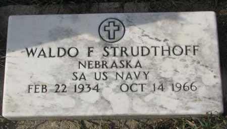 STRUDTHOFF, WALDO F. - Stanton County, Nebraska   WALDO F. STRUDTHOFF - Nebraska Gravestone Photos