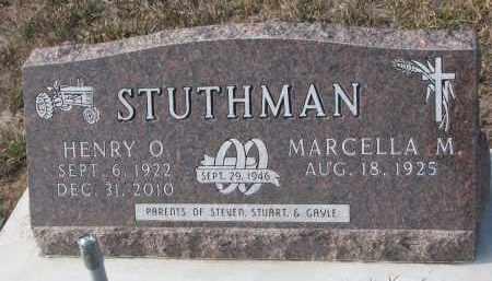 STUTHMAN, HENRY O. - Stanton County, Nebraska | HENRY O. STUTHMAN - Nebraska Gravestone Photos