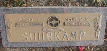 SUHRKAMP, WILMA D. - Stanton County, Nebraska   WILMA D. SUHRKAMP - Nebraska Gravestone Photos
