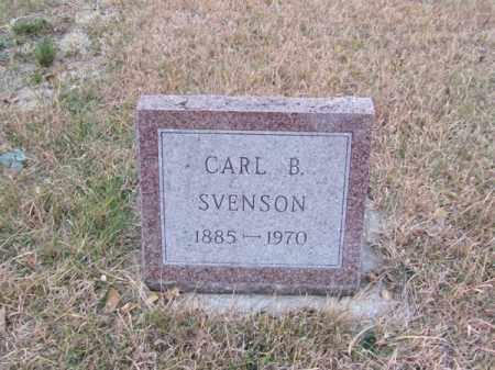 SVENSON, CARL B - Stanton County, Nebraska | CARL B SVENSON - Nebraska Gravestone Photos