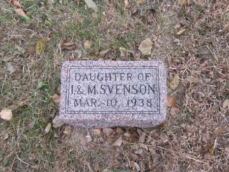 SVENSON, DAUGHTER - Stanton County, Nebraska | DAUGHTER SVENSON - Nebraska Gravestone Photos