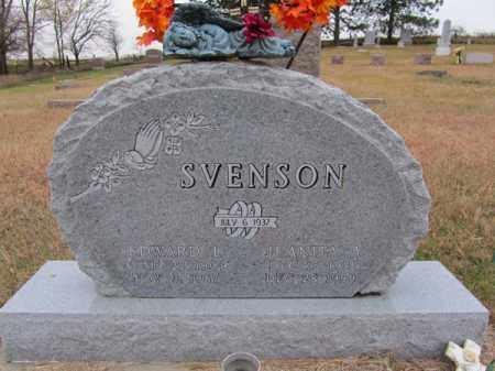 SVENSON, EDWARD L - Stanton County, Nebraska   EDWARD L SVENSON - Nebraska Gravestone Photos