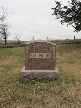 SVENSON, FAMILY PLOT - Stanton County, Nebraska | FAMILY PLOT SVENSON - Nebraska Gravestone Photos