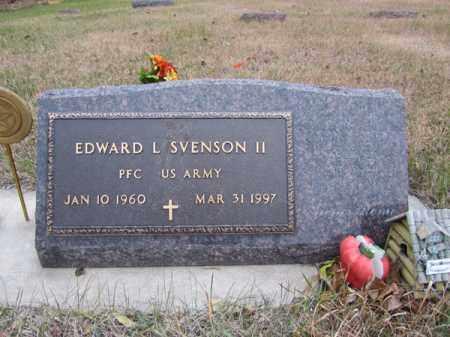 SVENSON II, EDWARD L - Stanton County, Nebraska | EDWARD L SVENSON II - Nebraska Gravestone Photos