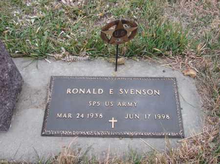 SVENSON (MIL), RONALD E - Stanton County, Nebraska | RONALD E SVENSON (MIL) - Nebraska Gravestone Photos