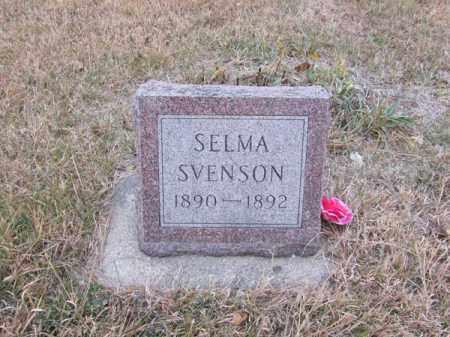 SVENSON, SELMA - Stanton County, Nebraska | SELMA SVENSON - Nebraska Gravestone Photos
