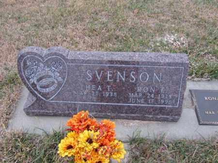 SVENSON, RON E - Stanton County, Nebraska | RON E SVENSON - Nebraska Gravestone Photos