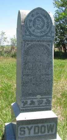 SYDOW, CARL FRIEDRICH - Stanton County, Nebraska   CARL FRIEDRICH SYDOW - Nebraska Gravestone Photos