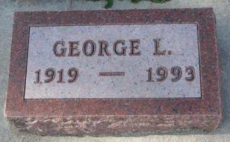 TAEGE, GEORGE L. - Stanton County, Nebraska | GEORGE L. TAEGE - Nebraska Gravestone Photos