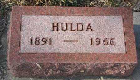 TAEGE, HULDA - Stanton County, Nebraska | HULDA TAEGE - Nebraska Gravestone Photos