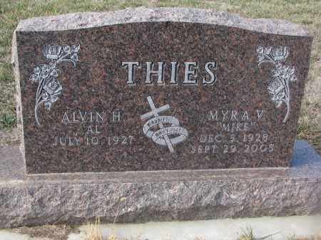 THIES, ALVIN H. - Stanton County, Nebraska | ALVIN H. THIES - Nebraska Gravestone Photos