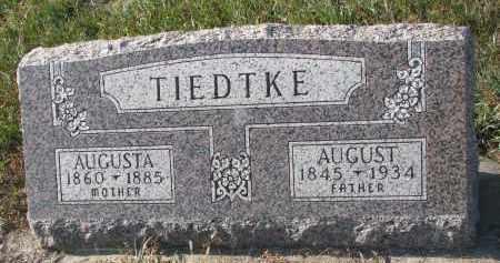 TIEDTKE, AUGUSTA - Stanton County, Nebraska | AUGUSTA TIEDTKE - Nebraska Gravestone Photos