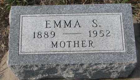 TIEDTKE, EMMA S. - Stanton County, Nebraska | EMMA S. TIEDTKE - Nebraska Gravestone Photos