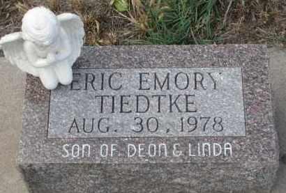 TIEDTKE, ERIC EMORY - Stanton County, Nebraska | ERIC EMORY TIEDTKE - Nebraska Gravestone Photos