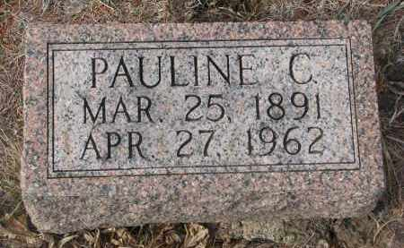 TIEDTKE, PAULINE C. - Stanton County, Nebraska | PAULINE C. TIEDTKE - Nebraska Gravestone Photos