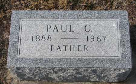 TIEDTKE, PAUL C. - Stanton County, Nebraska | PAUL C. TIEDTKE - Nebraska Gravestone Photos