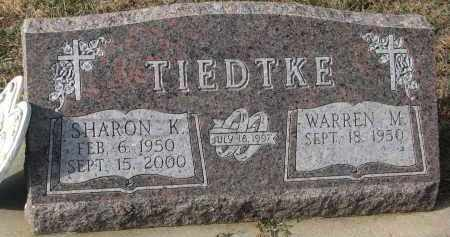 TIEDTKE, WARREN M. - Stanton County, Nebraska | WARREN M. TIEDTKE - Nebraska Gravestone Photos