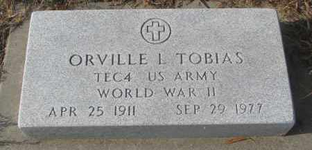 TOBIAS, ORVILLE L. - Stanton County, Nebraska | ORVILLE L. TOBIAS - Nebraska Gravestone Photos