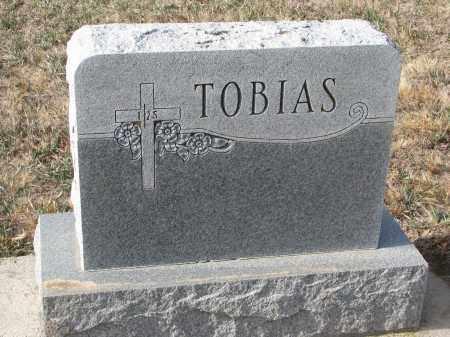 TOBIAS, PLOT STONE - Stanton County, Nebraska | PLOT STONE TOBIAS - Nebraska Gravestone Photos