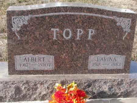 TOPP, ALBERT - Stanton County, Nebraska | ALBERT TOPP - Nebraska Gravestone Photos