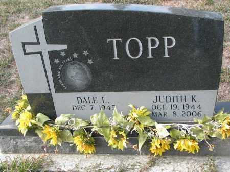 TOPP, DALE L. - Stanton County, Nebraska   DALE L. TOPP - Nebraska Gravestone Photos