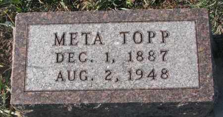 TOPP, META - Stanton County, Nebraska | META TOPP - Nebraska Gravestone Photos
