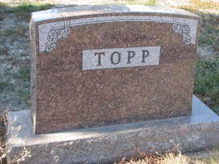TOPP, PLOT STONE - Stanton County, Nebraska | PLOT STONE TOPP - Nebraska Gravestone Photos