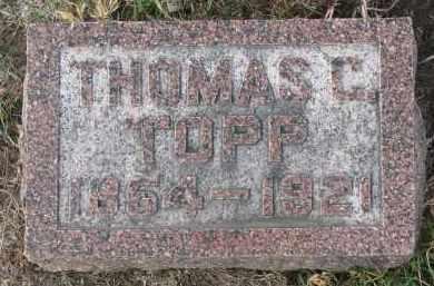 TOPP, THOMAS C. - Stanton County, Nebraska | THOMAS C. TOPP - Nebraska Gravestone Photos