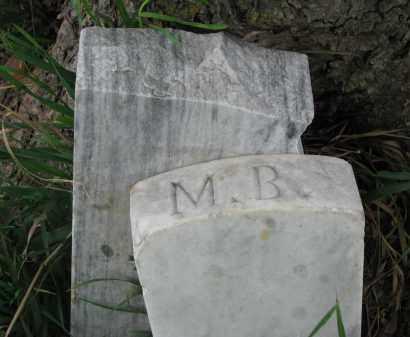 UNKNOWN, M.B. - Stanton County, Nebraska | M.B. UNKNOWN - Nebraska Gravestone Photos